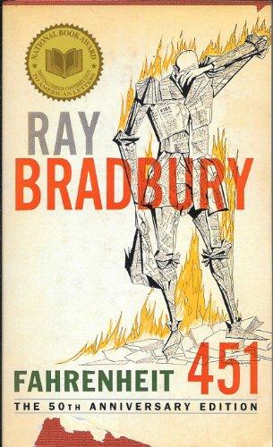 Fahrenheit 451, the 50th Anniversary Edition B004TLVDKW Book Cover