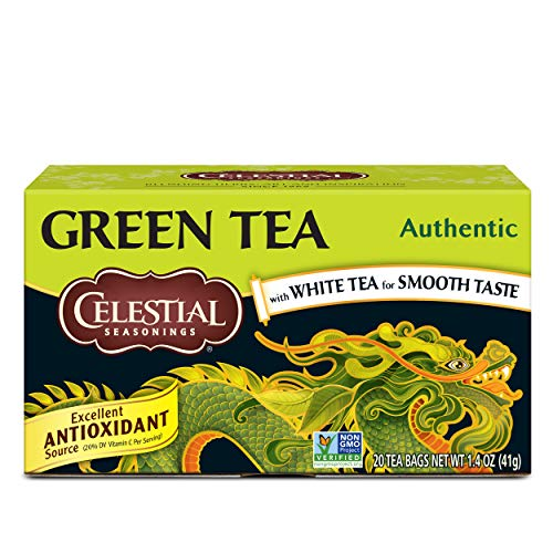 9. Celestial Seasonings – Green Tea