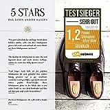 SEEADLER® Premium Schuhspanner - St. John Edition aus kanadischen Zedernholz für Herrenschuhe- 40 EU - 7
