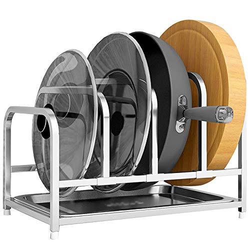 Afdruiprek/Vaat Droogrek Pot Rack Afwerking Rack - RVS verstelbare werkbladen keuken en kabinet hoogte en positie Pan Rack Afwerking Rack