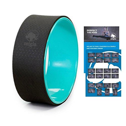 Seigla Yoga Wheel Basic 12' Perfect Backbends, Poses and...