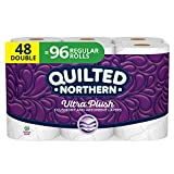 Quilted Northern Ultra Plush Toilet Paper, 48 Double Rolls, 48 =...