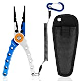 Best Fishing Pliers - Oiiaee Aluminum Fishing Pliers, Stainless Steel Fishing Tools Review