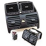 KCSAC 1 Set Central Aire Acondicionado Outlet Fit para VW Jetta Golf 1Kd 819 728 1kd 819 704 1k0 819 703 Panel de instrumentos de control central (Color Name : C)