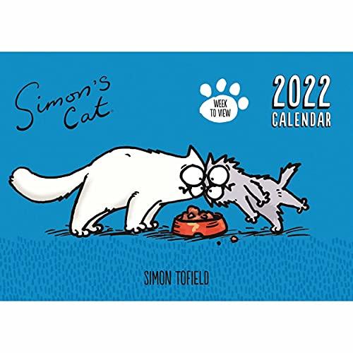Portico Designs – Simon's Cat A4 Family Calendar/Organiser 2022 (C22121)