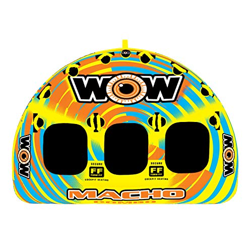 WOW Sports Macho 1-3 Person Towable Tube