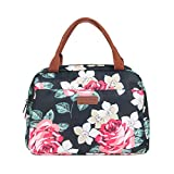 Insulated Lunch Box - Waterproof & Reusable Lunch Tote Cooler Bag Picnic Box