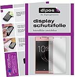 dipos I 2X Schutzfolie klar kompatibel mit Sony Xperia L1 Folie Bildschirmschutzfolie
