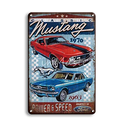 Ami0707 Tinplate Metal Poster Tin Sign Vintage Garage Plaque Home Decorative Metal Plate Sign Wall 20x30cm 50538