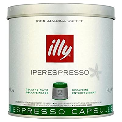 illy Iperespreso Capsules Decaf 21 per pack