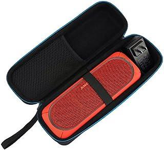 Msova SONY SRS-XB30ケース SRS-XB31/XB30 Bluetoothスピーカー収納ボックス ブルートゥーススピーカー 保護ケース ポータブル 充電ケーブル収納 全面保護 衝撃吸収 傷防止 防水防塵 旅行 ブラック
