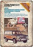 KODY HYDE Metall Poster - Jeep Wagoneer Commando Cherokee -