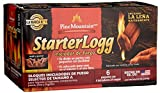 Pine Mountain StarterLogg Select-A-Size Firestarting Blocks, 24 Starts Firestarter Wood Fire Log for Campfire, Fireplace, Wood Stove, Fire Pit, Indoor & Outdoor Use (Packaging may Vary)
