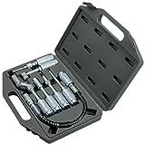 7-tlg Fettpressen Zubehör Adapter Werkzeug Set Verlängerung Winkelaufsatz