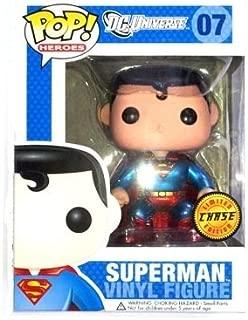 DC Comics Pop! Heroes Superman Chase Metallic Variant Vinyl Figure by Pop! Heroes