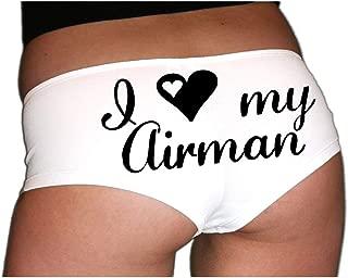 I Love My Airman Air Force Underwear