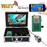 Tosuny Fishing Camera, 10.1in TFT Colorful Screen Underwater Camera Wireless Wifi 1000TVL HD