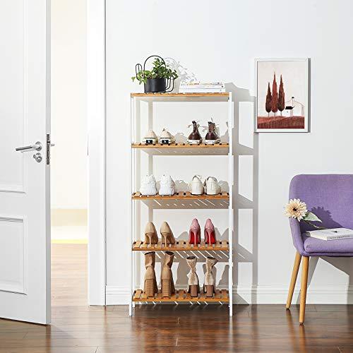 5-Tier Bathroom Storage Shelves