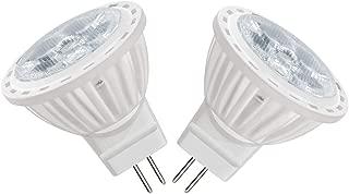 ZOZO GU4 MR11 Punto Iluminación AC 220V LED Bombilla 4W 300LM, Sustituye a Bombilla Halógena de 35W, Blanco Frío 6000K Bombillas (2 unidades)