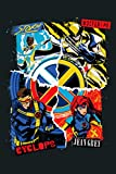 Marvel X Men 90S Storm Wolverine Cyclops Jean Grey: Notebook Planner -6x9 inch Daily Planner Journal, To Do List Notebook, Daily Organizer, 114 Pages