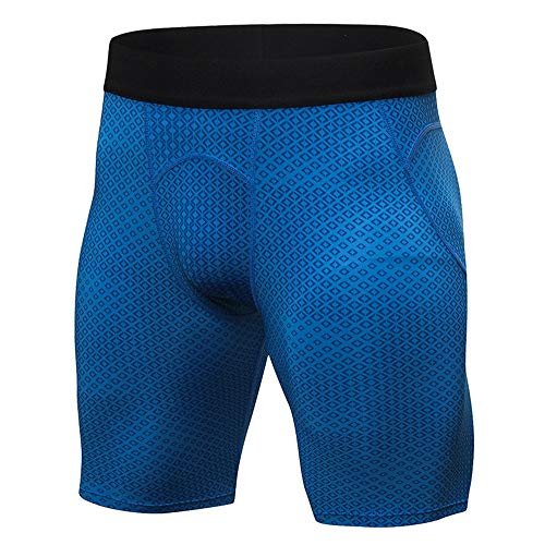 51OI1aY9yRL. SS500  - Yhjkvl Men's Compression Base Layers Shorts Men's Tights Fitness Running Training Compression Shorts Three-dimensional…