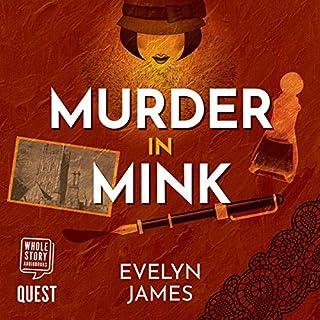 Couverture de Murder in Mink