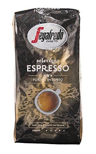 Segafredo Selezione Espresso Forte Intenso, 1000g ganze Bohne, 4er Pack