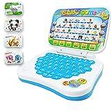 Faironly Multifunción de aprendizaje de idiomas de la máquina de niños portátil de juguete educativo temprano de la computadora