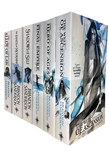 Brandon sanderson mistborn series 6 books collection set
