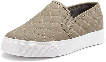 JENN ARDOR Women's Fashion Sneakers Classic Slip on Flats Comfortable Walking Sports Casual Shoes