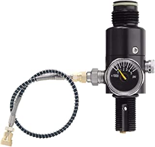 Gurlleu 4500psi High Pressure PCP Paintball Air Tank Valve Regulator & Fill Station
