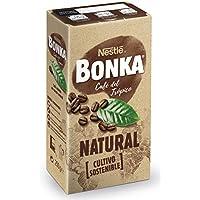 Bonka Café molido de tueste natural y cultivo sostenible - Paquete de Café molido de 250 gr