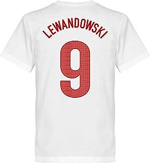 La Pologne T-shirt Femmes Rouge Maillot équipe NR All 10 football coupe du monde 2018