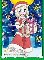 きゃらスリーブコレクション マットシリーズ   NEW GAME! 「桜 ねね (サンタ)」 (No.MT308)