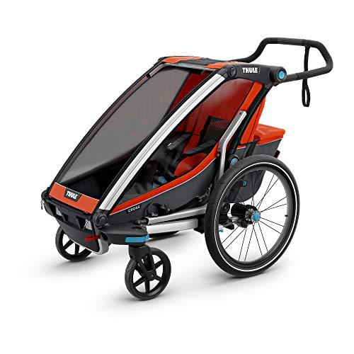 Thule Baby Chariot Cross Multisport Anhänger Roarange, 1 Kind