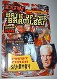ECW BASH OF THE BRAWLERS- SANDMAN Action Figure