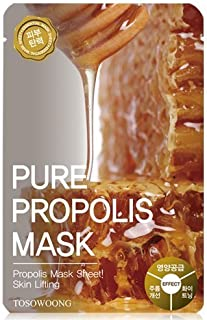 TOSOWOONG - Pure Propolis Sheet Mask Pack 23g (10 sheets) Not Box Package