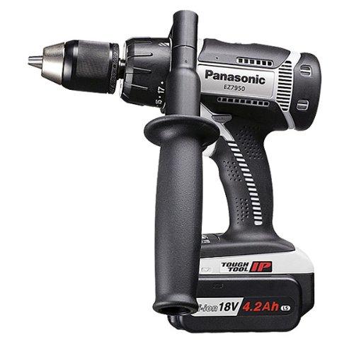 Panasonic(パナソニック) 充電振動ドリル&ドライバー18V EZ7950LS2S-H