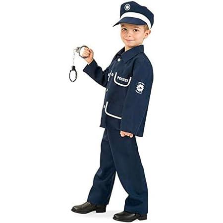 Erwachsene Widmann 00084 Polizisten Set Einheitsgr/ö/ße Unisex/ Schwarz