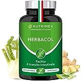 HERBACOL COLON CLEANSE | 5 Piante e Radici NATURALI per SGONFIARE L'ADDOME | DEPURANTE e DRENANTE | Pulisce il Colon E l'Intestino | Equilibrio Intestinale | Vegetale e Naturale