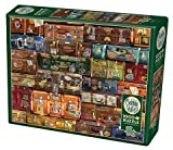 Cobble Hill 1000 Piece Puzzle - Luggage - Sample Poster Included