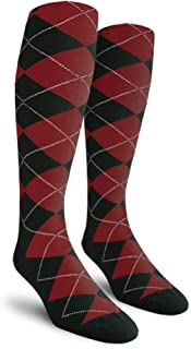 Argyle Golf Socks: Over-The-Calf (AA-ZZ)