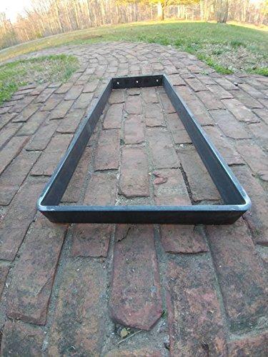 Trapezoid Flat Metal Bench Table Popular popular - Beeswax coating Popular standard optional Leg