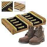 Top Home Solutions - Limpiador para botas para restregar grandes cantidades de barro