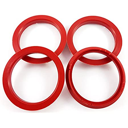 4x Zentrierringe 72 5 X 64 1 72 5 Auf 64 1 Rot Kompatibel Mit Borbet Auto