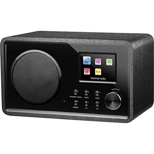 Medion Internet Tischradio Life E85052 (MD 87267) Internetradio, DLNA, AUX DLNA-fähig Schwarz
