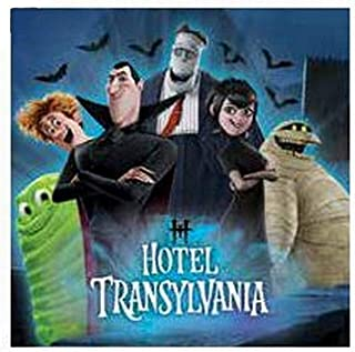 Hotel Transylvania Lunch Napkin Pack Of 12 One Size