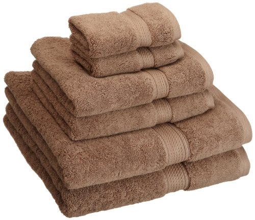 Superior 900GSM 6 PC LA Towel Set, 6PC, Latte