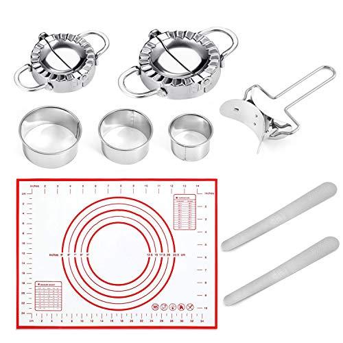 Moldes para Ravioli Dumpling, juego de 9 Ravioli Dumpling, herramienta accesorio para Ravioli Dumpling
