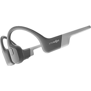 AfterShokz Aeropex Bone Conduction Wireless Bluetooth Headphones, Lunar Grey